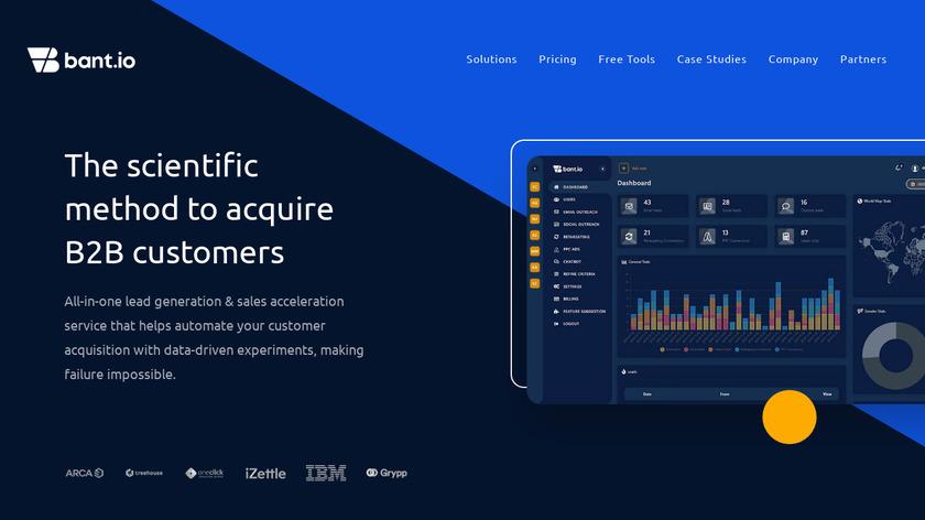 bant.io Landing Page