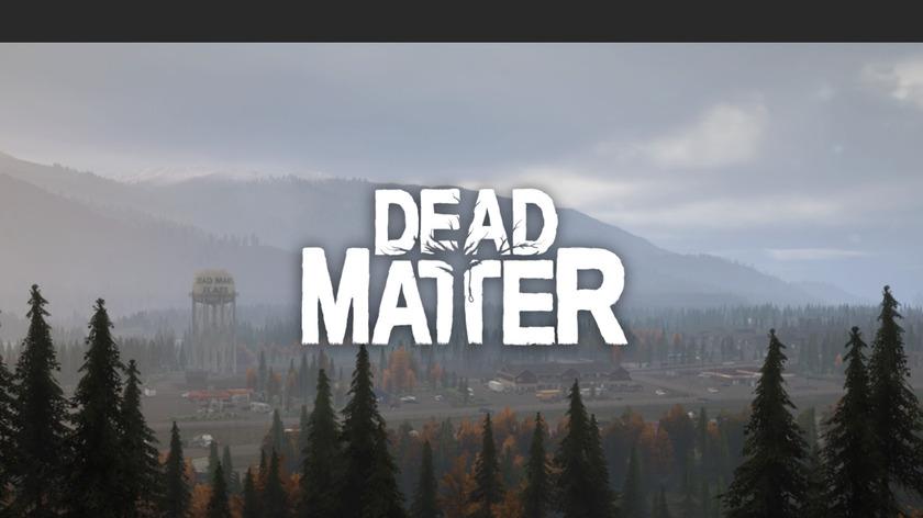 Dead Matter Landing Page