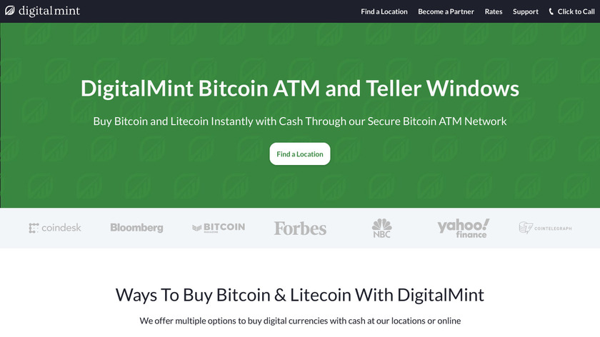DigitalMint Landing Page