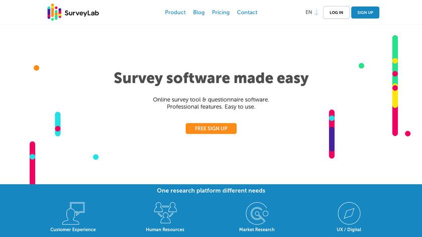 SurveyLab Landing Page