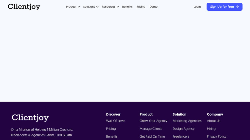 Proposal Templates for Agencies Landing Page