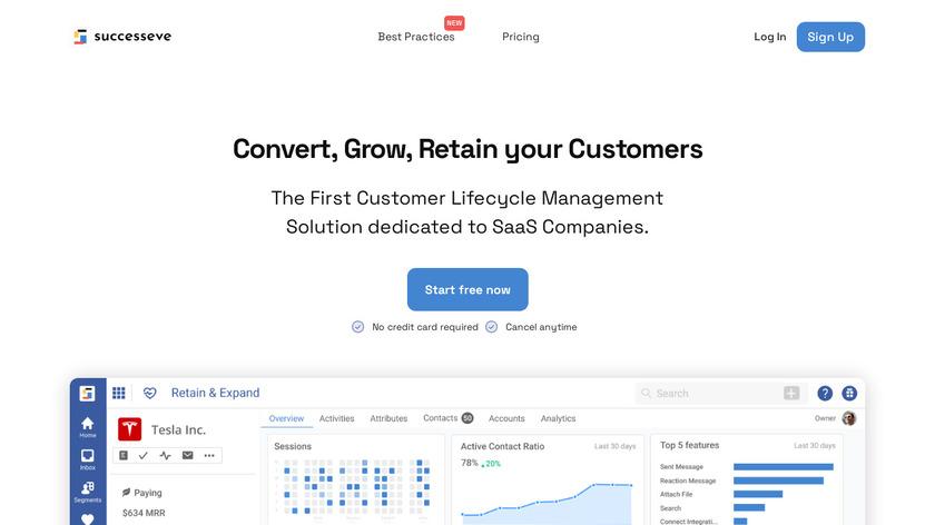 Salesmachine Landing Page