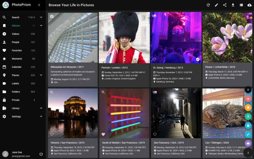 PhotoPrism.app Landing Page