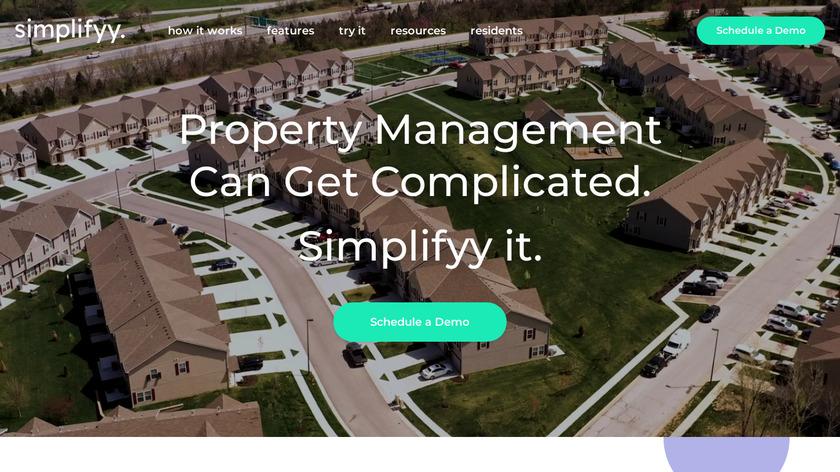 Simplifyy Landing Page