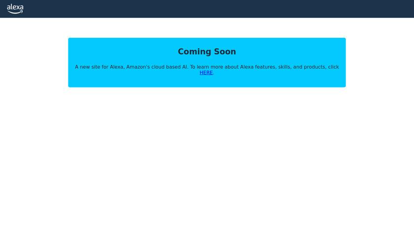 Alexa Marketing Stack Landing Page
