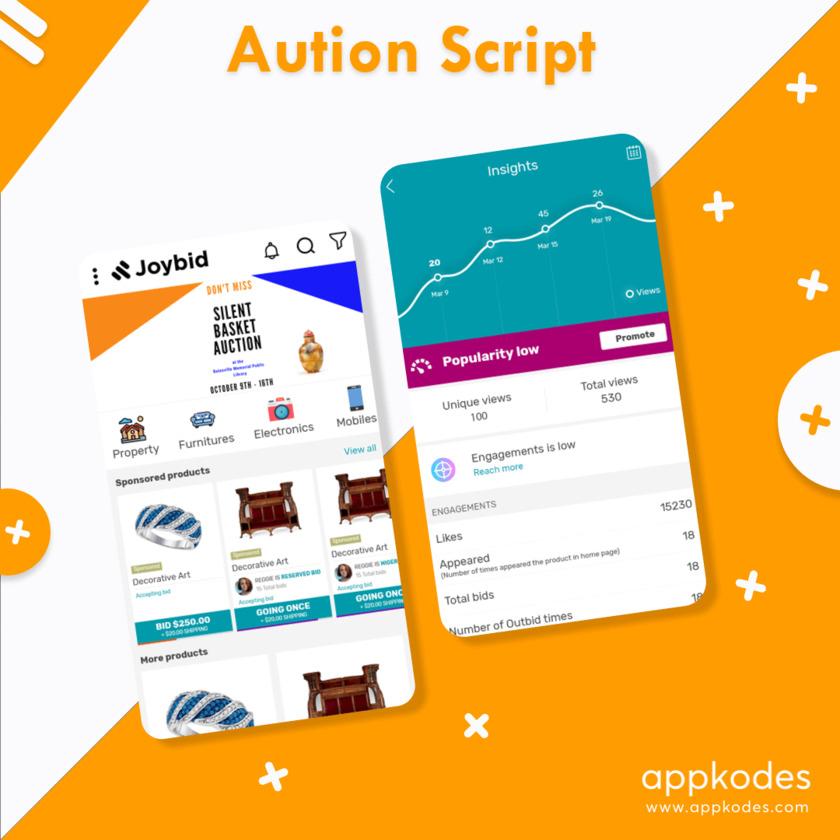 Appkodes Joybid Landing Page