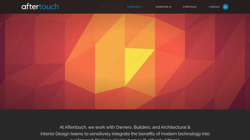 Aftertouch Landing Page