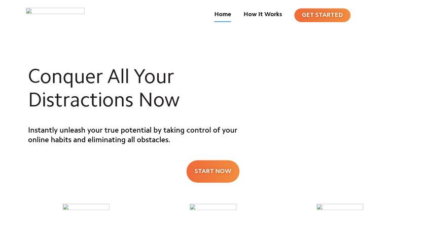 FocusMe Landing Page