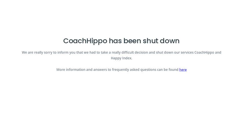 CoachHippo Landing Page