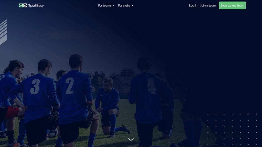SportEasy Landing Page