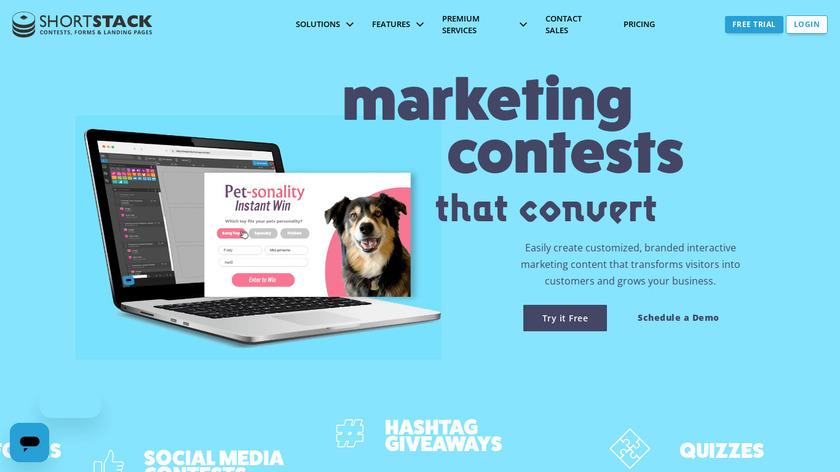 ShortStack Landing Page