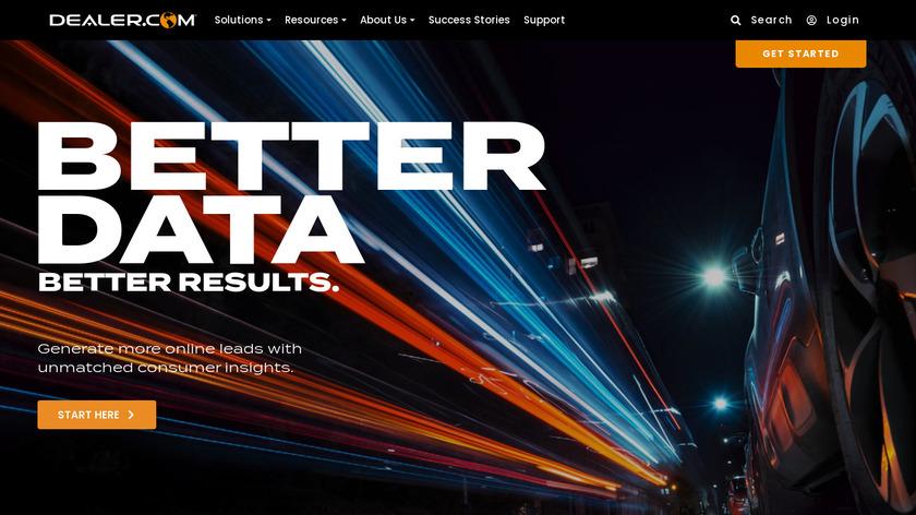 Dealer.com Landing Page