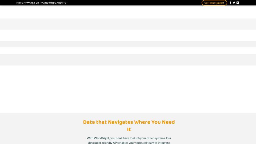 WorkBright Landing Page