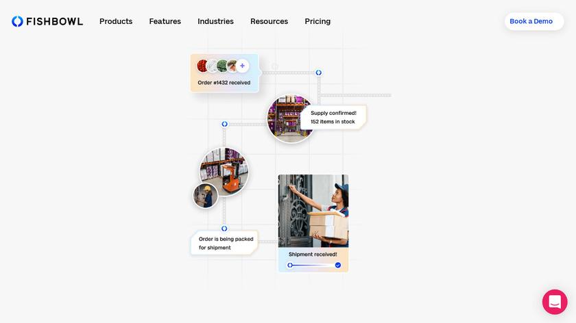 Fishbowl Inventory Landing Page