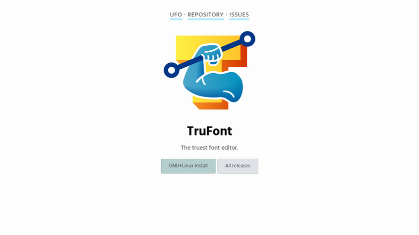 TruFont Landing Page