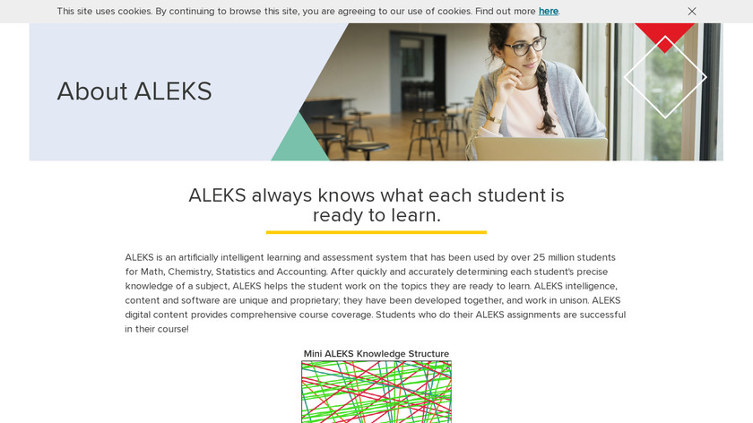 ALEKS Landing Page