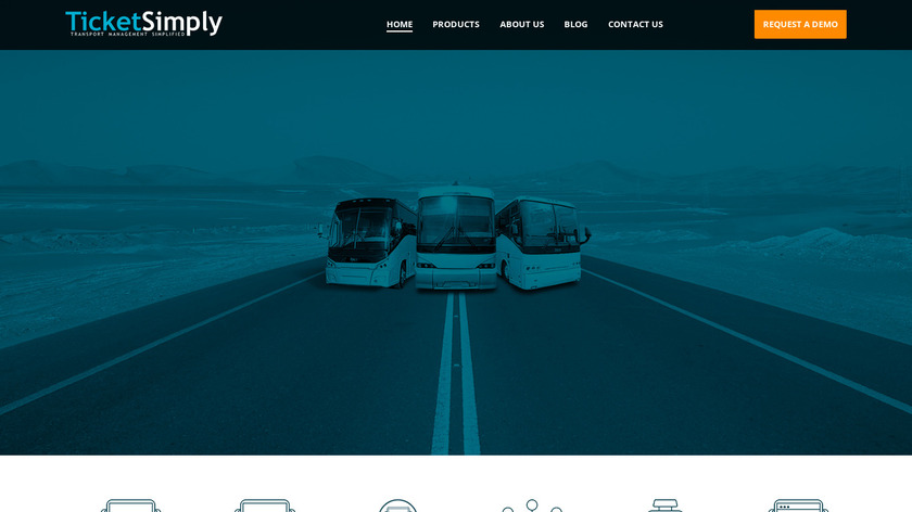 TicketSimply Landing Page
