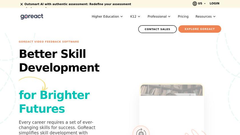 GoReact Landing Page