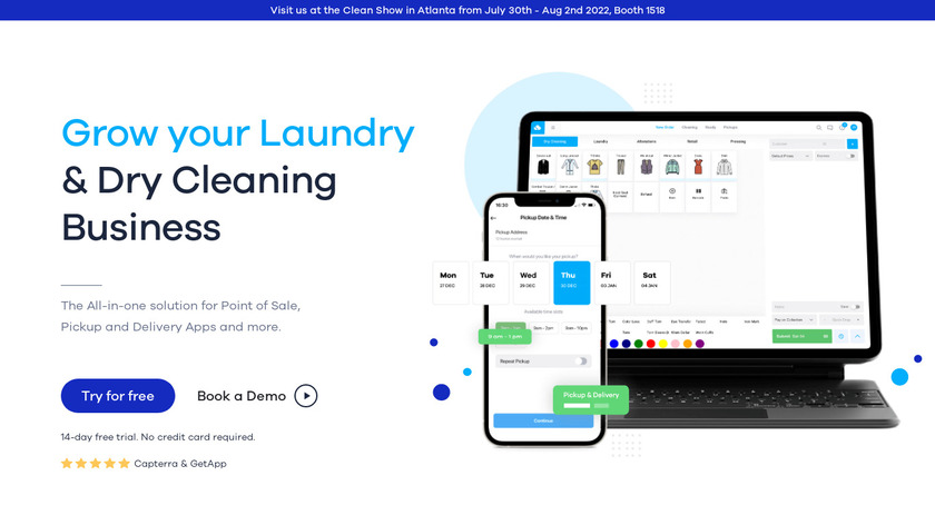 CleanCloud Landing Page