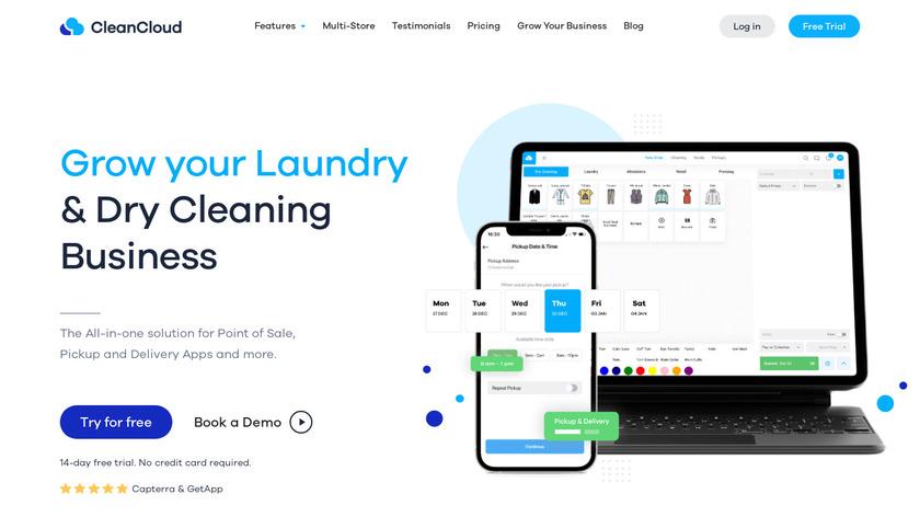 CleanCloud Landing Page