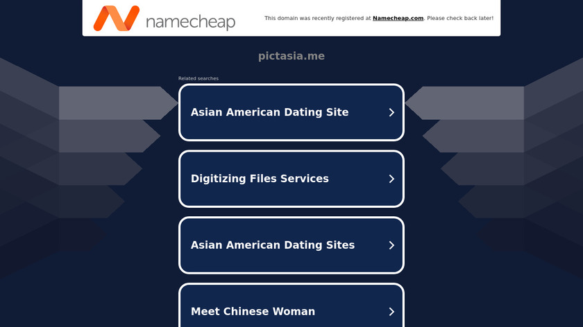 Pictasia Landing Page