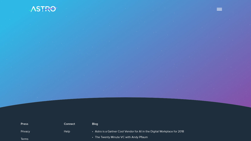 Astro Landing Page