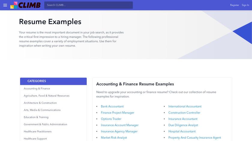 ResumeLift Landing Page