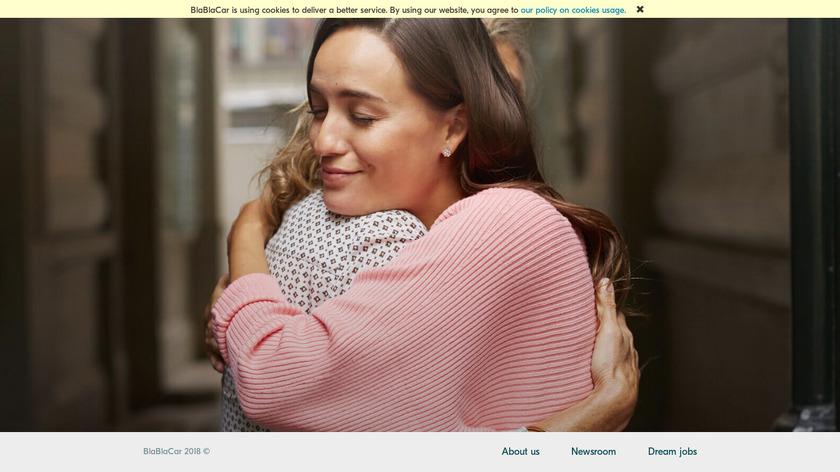BlaBlaCar Landing Page
