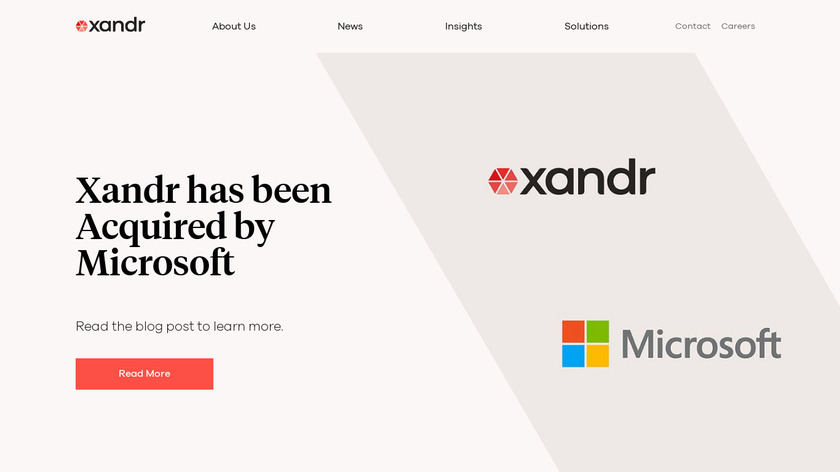 AppNexus Landing Page