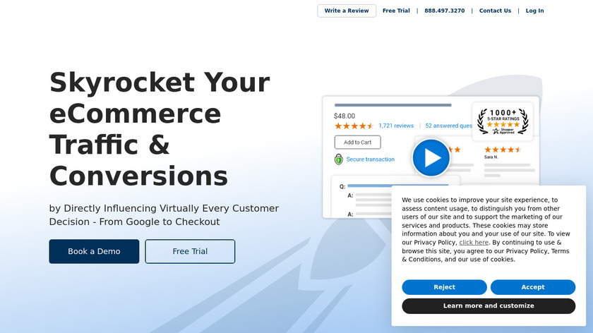 Shopper Approved Landing Page