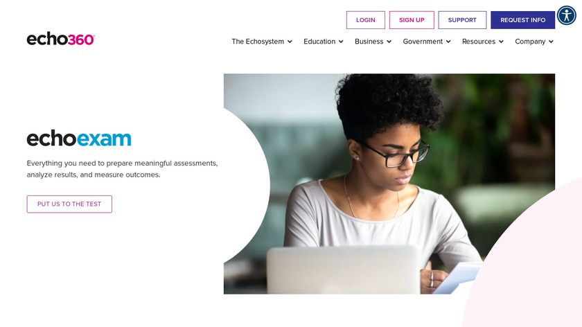 ExamView Assessment Suite Landing Page