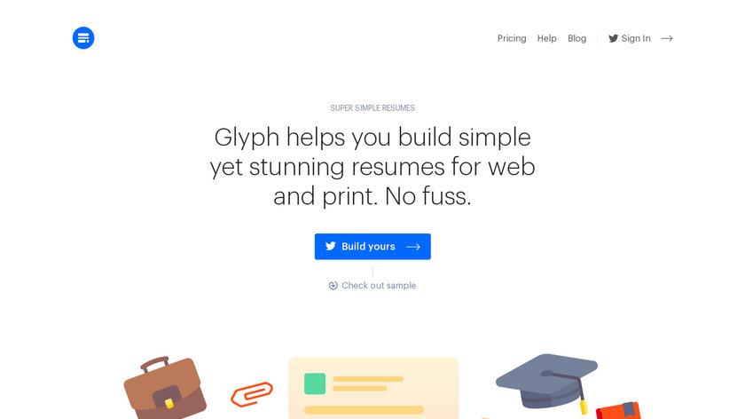 Glyph Landing Page