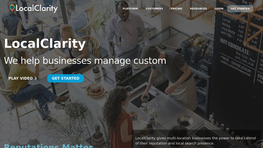 LocalClarity Landing Page