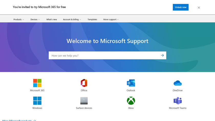 Windows Task Manager Landing Page