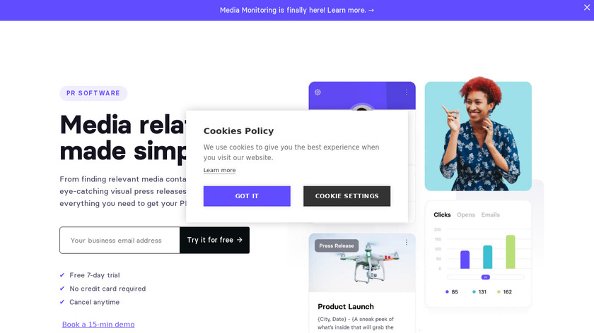 Prowly Landing Page