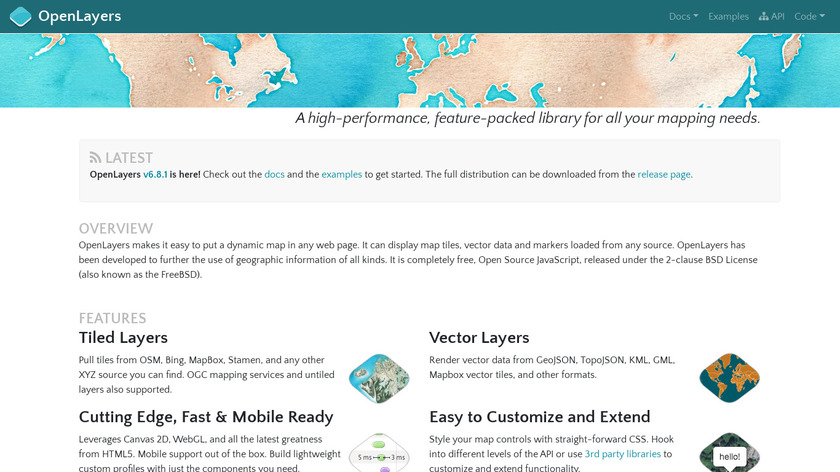 OpenLayers Landing Page