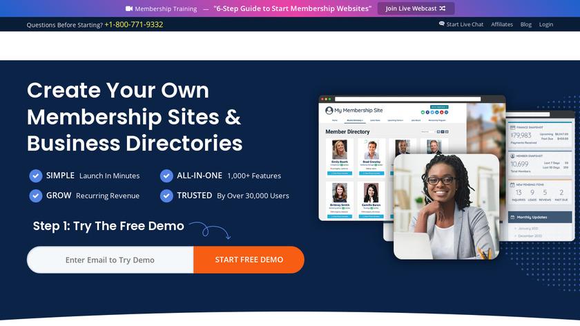 Brilliant Directories Landing Page