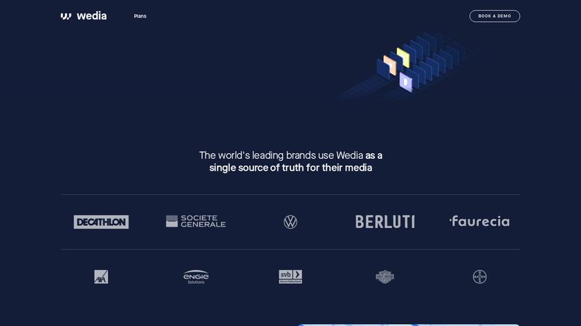 Wedia Landing Page