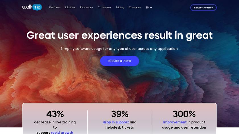 WalkMe Landing Page