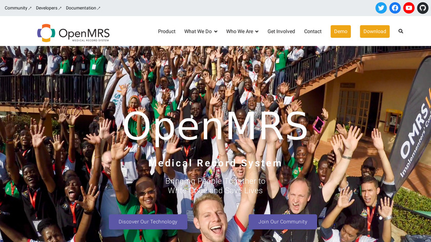 OpenMRS Landing Page