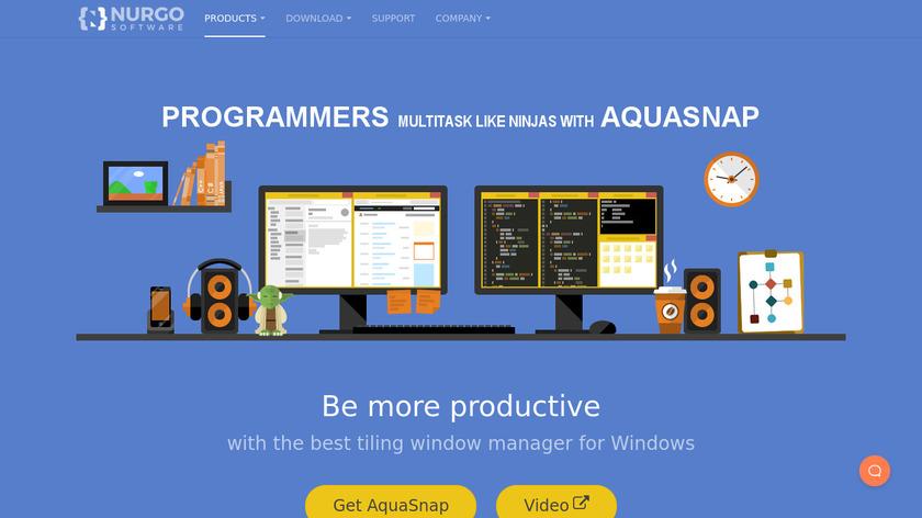 AquaSnap Landing Page