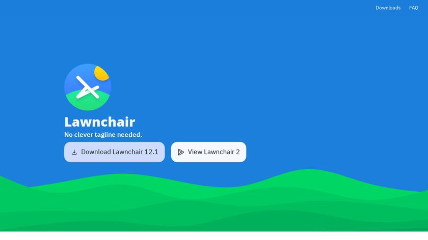Lawnchair Launcher Landing Page