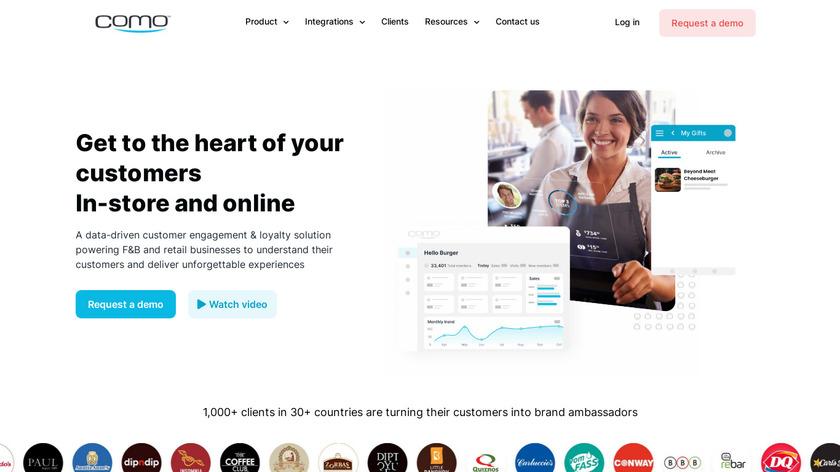 Como Landing Page