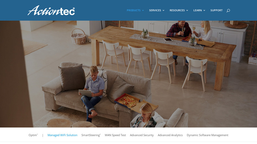 Actiontec Managed Wifi Landing Page