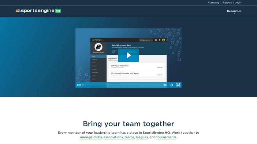 SportsSignupPlay Landing Page