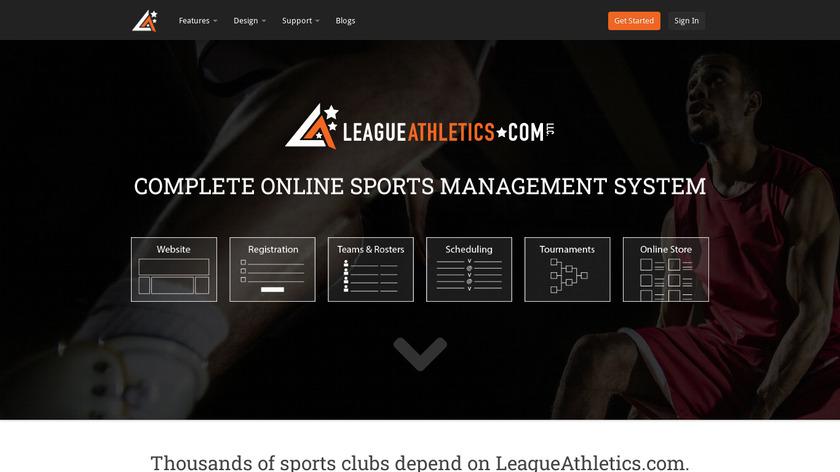 LeagueAthletics.com Landing Page
