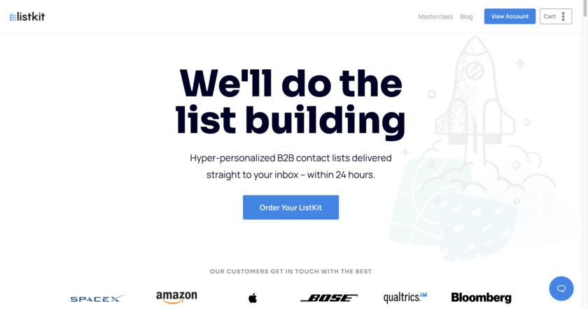 ListKit.io Landing Page