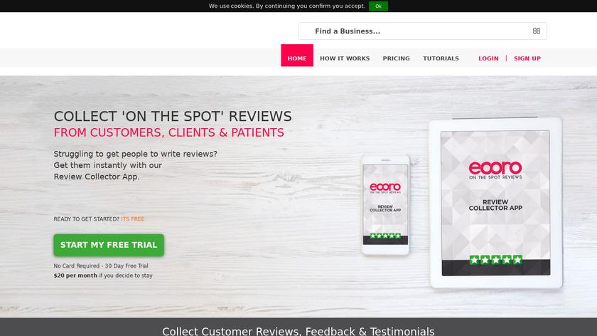 Eooro.com Landing Page