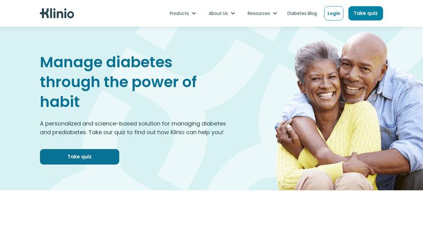 Klinio Landing Page