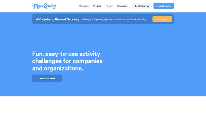 MoveSpring Landing Page